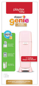 Diaper Genie Elite de Playtex - rose.