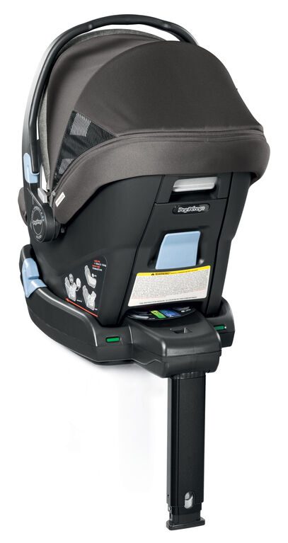 Peg-Perego Primo Viaggio 4-35 Nido Infant Car Seat (Eco-Leather) - Licorice.