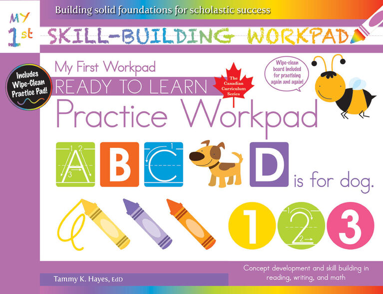 My First Skill Building Workpad - English Edition