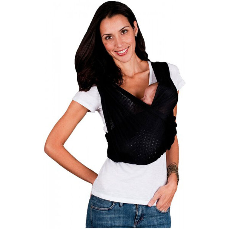 Baby K'Tan Breeze Baby Carrier - Black Large