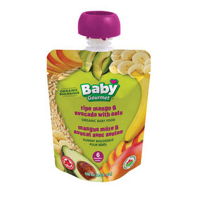 Baby Gourmet Ripe Mango and Avacado