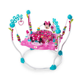 Disney Baby Minnie Mouse Peek-A-Boo Activity Jumper