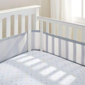 BreathableBaby - Breathable Crib Liner - Grey