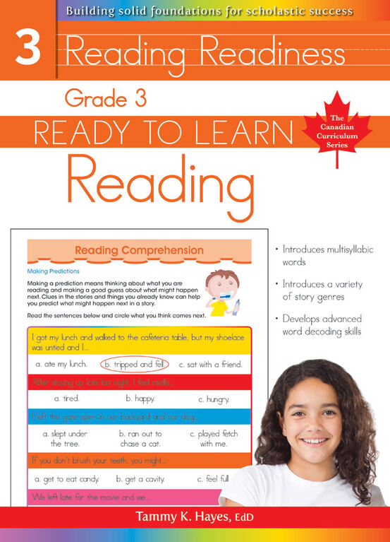 Grade 3 - Ready To Learn Reading - Édition anglaise