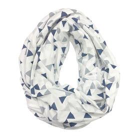 Perlimpinpin Nursing scarf - Navy Triangle