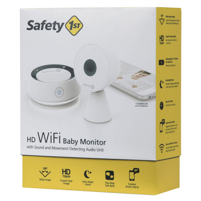 Safety 1st Wifi Camera Monitor with Audio Unit
