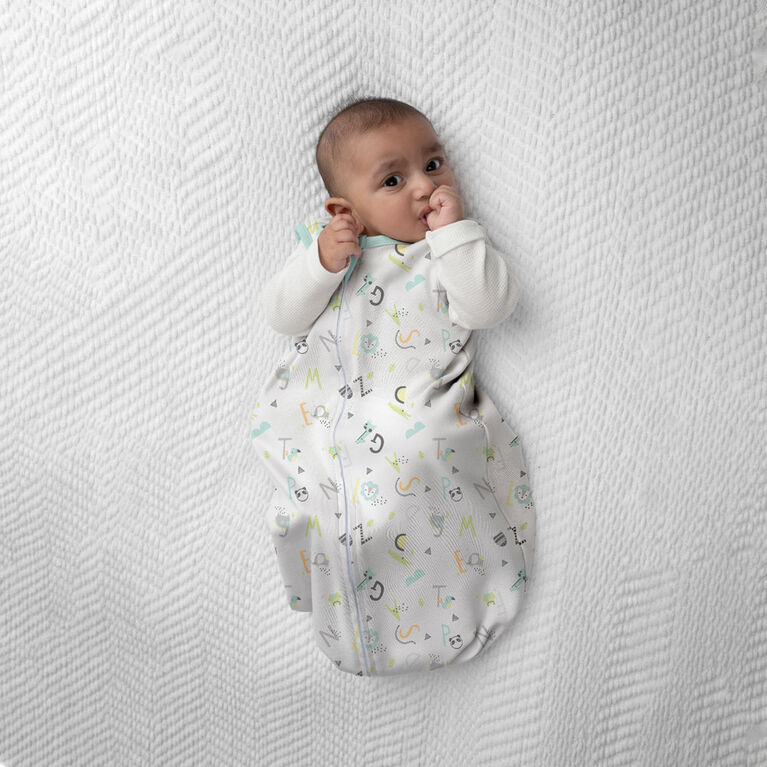SwaddleMe 1 Pack Night Sack Sleeper ALPHABET 6-12 months