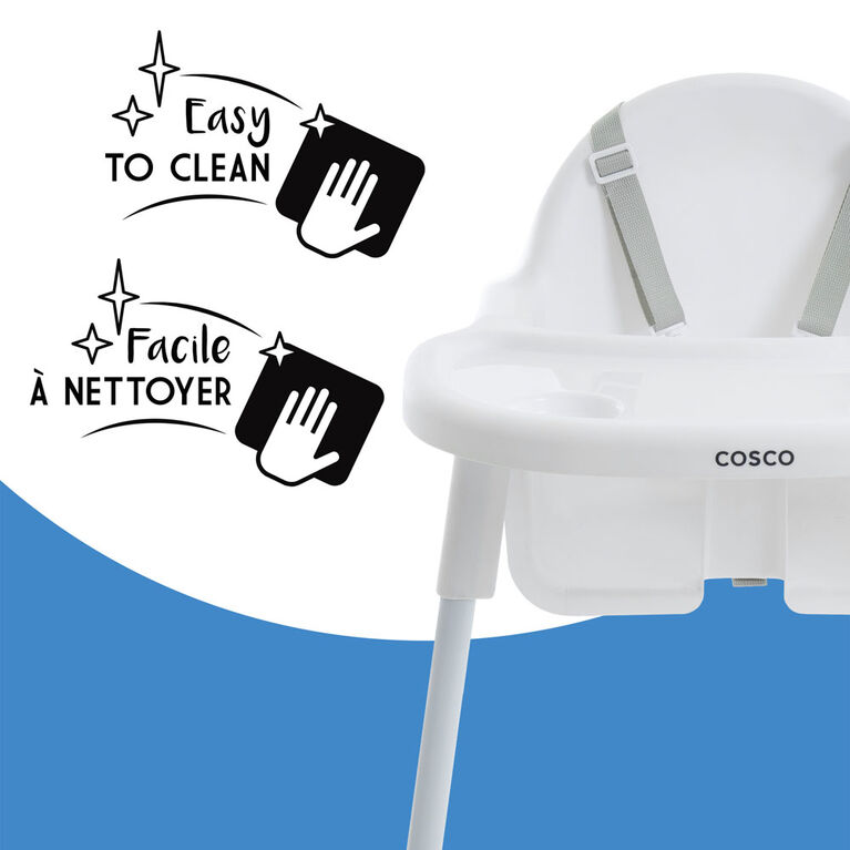 Cosco Canteen Highchair - White