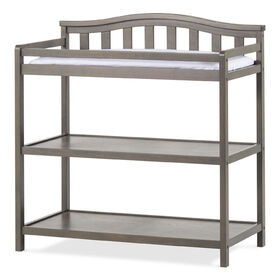 Forever Eclectic by Child Craft Wilmington Arch Top Dressing Table, Dapper Gray