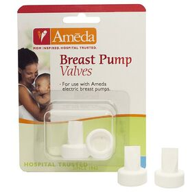 Ameda Breast Pump Valves - 2 Count.