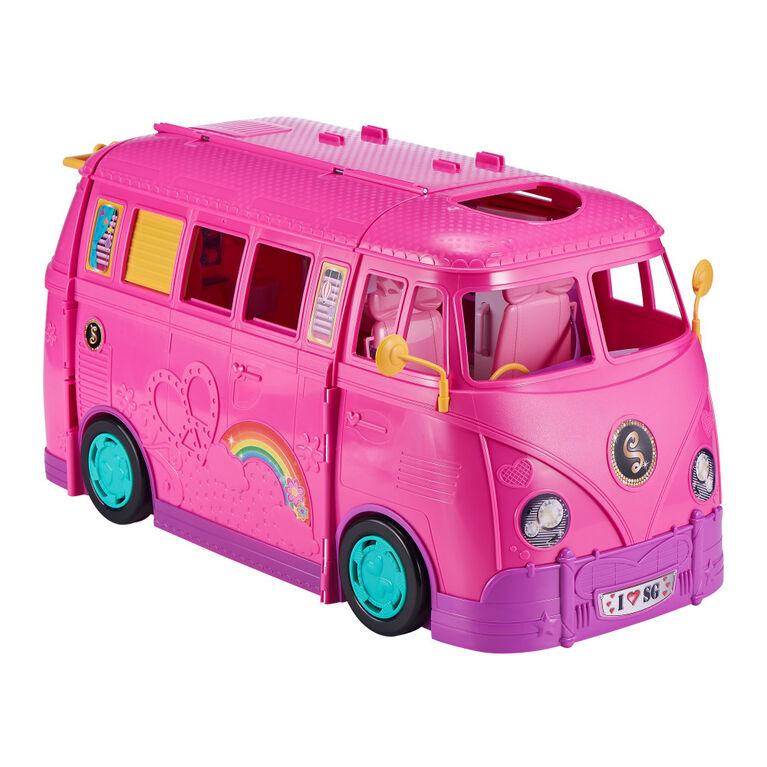 Camping-car rétro Sparkle Girlz