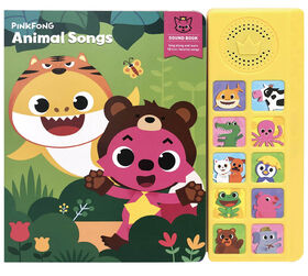 Livre sonore Pinkfong Animal Songs - Édition anglaise
