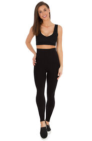 Belly Bandit Mother Tucker Leggings - Black Medium