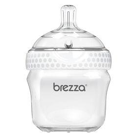 Biberon en polypropylene, 5 oz de Baby Brezza - Blanc.
