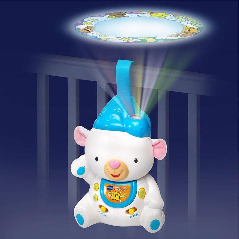 Sleepy Lullabies Bear Projector - English Edition