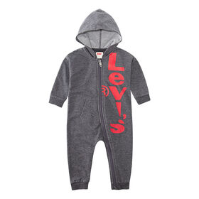 Levis Coverall - Grey, 6 Months