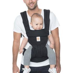 Porte-bébé à positions multiples ergonomique Ergobaby 360 - noir pur.