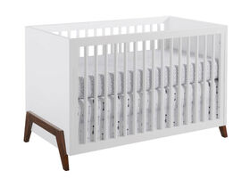 Oxford Baby - Mari Modern Crib White