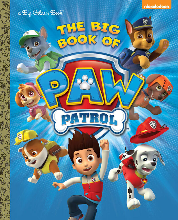 Golden Books - The Big Book of Paw Patrol (Paw Patrol) - English Edition