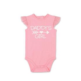 Koala Baby Daddy's Girl Ruffle Sleeve Bodysuit - 3-6 Months