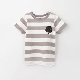 little styler graphic tee, 18-24m - light grey