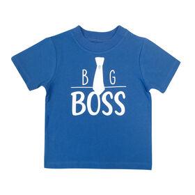 Rococo short sleeve Tshirt - Blue, 4T