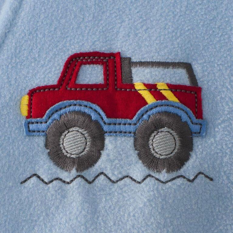 Couverture-vêtement SleepSack Big Kids de HALO Toison - Camion bleu - 2/3T.