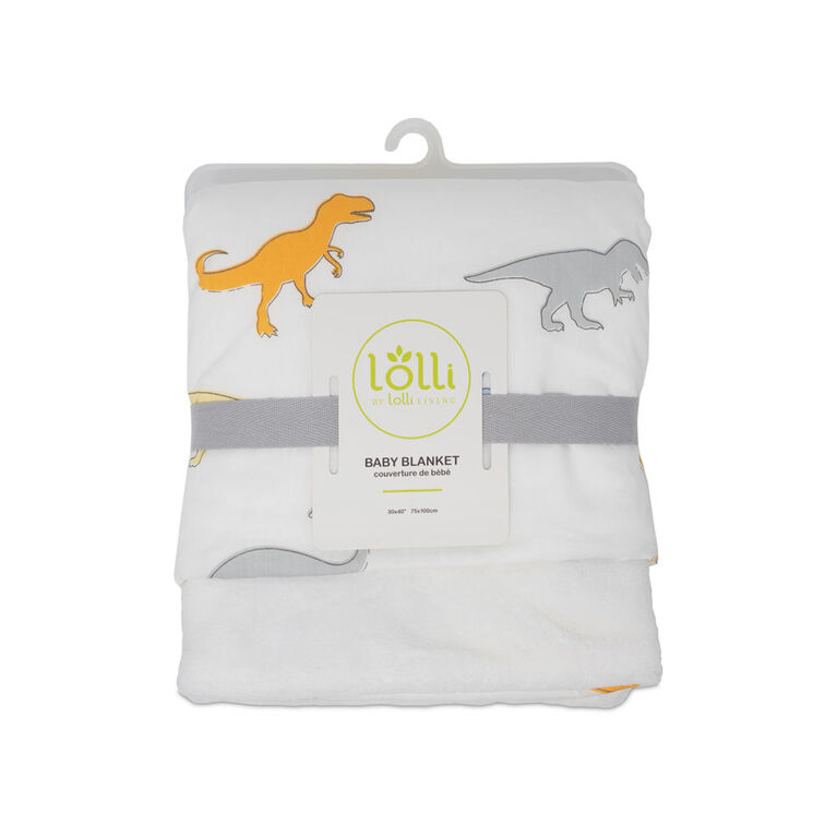 Lolli by Lolli Living Stroller Blanket - Dino Land