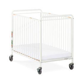 Lit de bébé compact en acier Clearview ChelseaMC de Foundations.