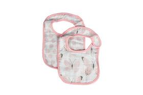 Emballage de 2 bavoirs en mousseline de coton Koala Baby.