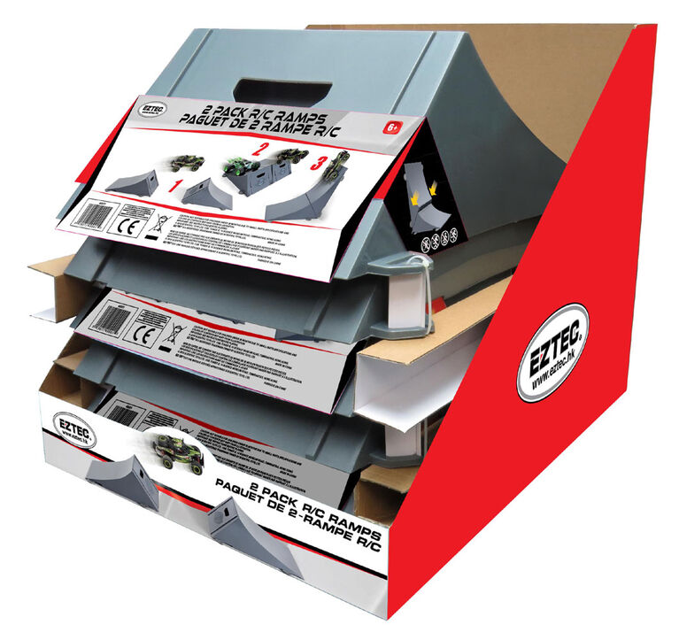 2 Pack R/C Ramps - Grey - R Exclusive