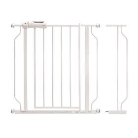 Barrière de sécurité Easy Walk-Thru Pass-Thru - Blanc Evenflo