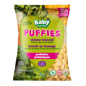 Baby Gourmet Chessy Brocolli Puffs