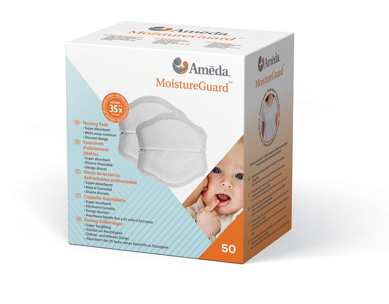 Ameda MoistureGuard Disposible Nursing Pads