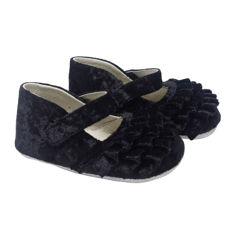 Robeez - First Kicks Black Velvet 18-24M