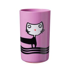 Gobelet pour tout-petit TommeeTippeeNoKnock, chat –10oz, 18mois et plus, paquet de1.