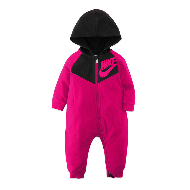 Nike Coverall - Pink, 6 Months
