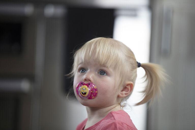 Suce pour bébé TommeeTippeeCloser to Nature–Moments de plaisir, de 6 à 18mois–4unités (garçon).