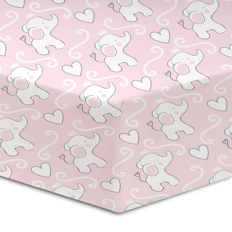 Koala Baby - Drap-housse pour lit de bébé en percale coton