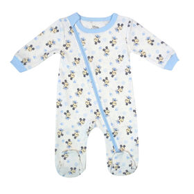 Disney Mickey Mouse 1-Piece Sleeper - Blue, 3 Months