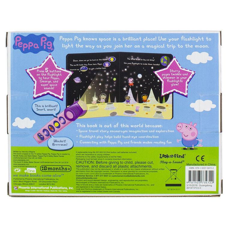 Peppa Pig - Moonlight Bright Book and Flashlight Set - English Edition