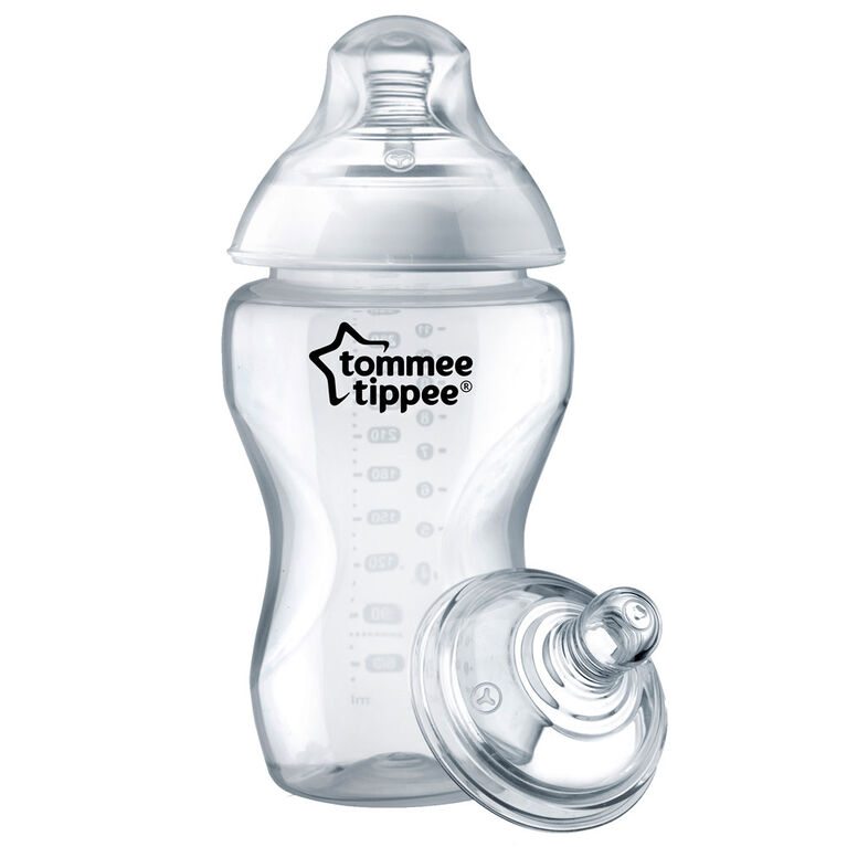 Biberon pour céréales 11oz Tommee Tippee Closer to Nature - paquet de 3.
