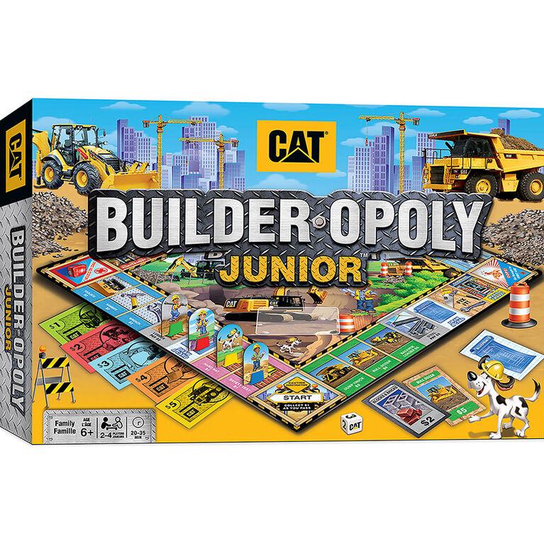 Jeu De Société Caterpillar Opoly Junior Masterpieces Puzzle