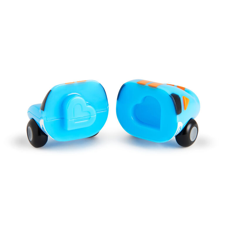 Magnet Motors Bath Toys 2-Pack - Blue/Orange