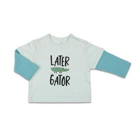 Combinaison contrastéeThe Peanutshell Later Gator interchangeable, layette pour bébé garçon - 6-9 Mois