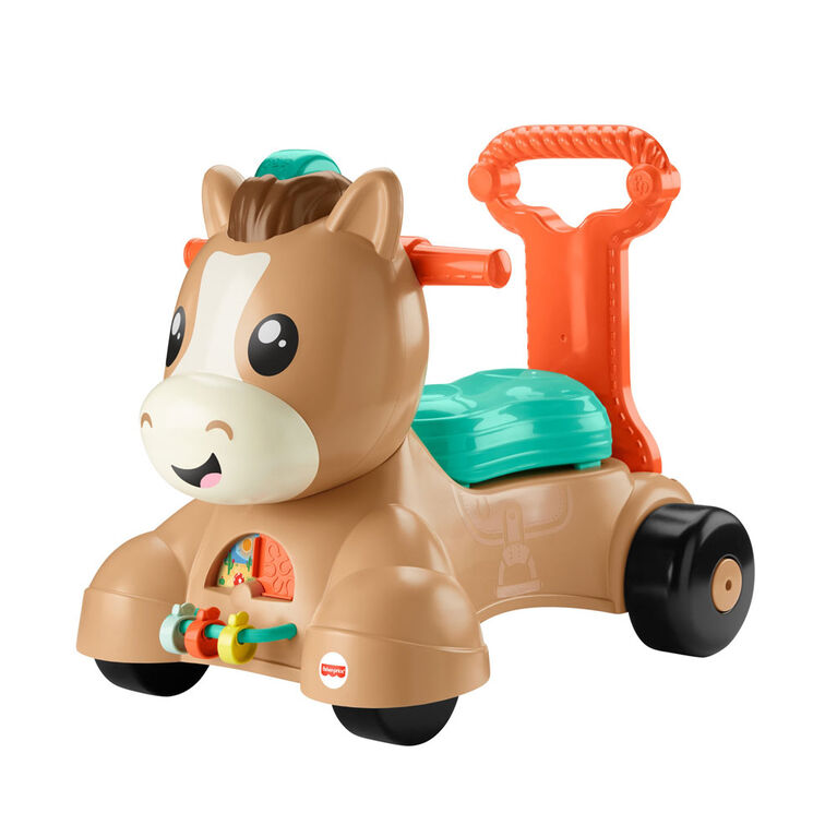 Fisher-Price Walk Bounce & Ride Pony
