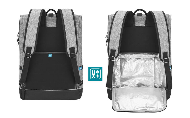 Babymoov Sancy Backpack Diaper Bag Smokey