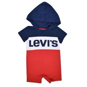 Levis Romper - Navy, 6 Months