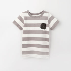 little styler graphic tee, 12-18m - light grey