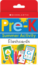 Scholastic - Scholastic Early Learners: Pre-K Summer Activity Flashcards - Édition anglaise